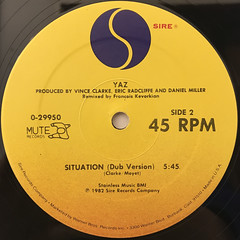YAZ:SITUATION(LABEL SIDE-B)