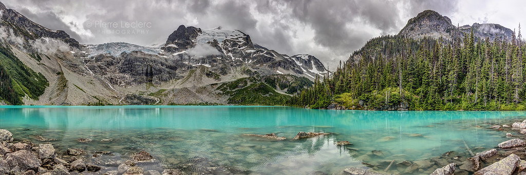 Panoramic View of Upper Joffre Lake