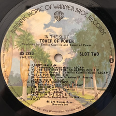 TOWER OF POWER:IN THE SLOT(LABEL SIDE-B)