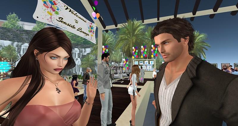 Dancing at Seaside Lounge