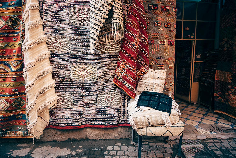 Marrakech basaarit