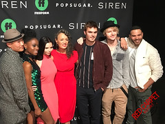 "At Freeform's ""Mermaid Museum"" pop-up in advance of International Mermaid Day to celebrate their new series, ""Siren"" premiering March 29th #Siren #FreeformTV #MermaidMuseum #GivingBack"