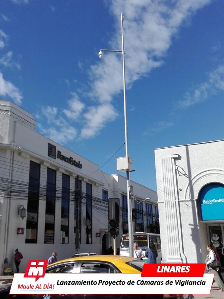 LINARES; Municipio pone en marca 8 cámaras de Teleprotección Ciudadana