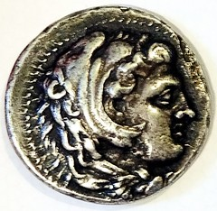 Ready copy Tetradrachm, Alexander the Great obverse