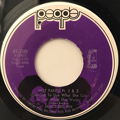 JAMES BROWN:HOT PANTS(LABEL SIDE-B)