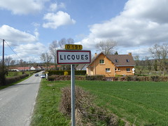 Licques city limit sign - Photo of Licques