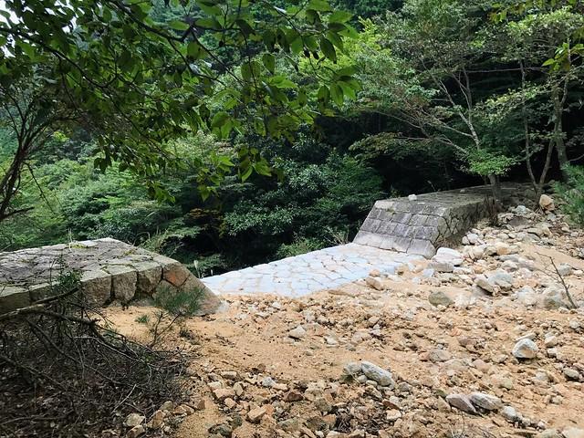 仙ヶ岳 白谷道 大堰堤
