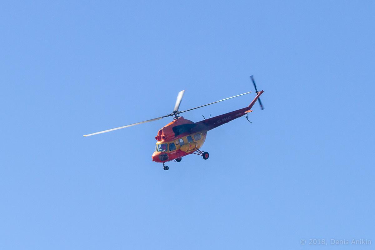 Вертолёт Ми-2 выступление фото 8