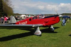 G-ALJF Percival P34 (K 427) Popham_030510