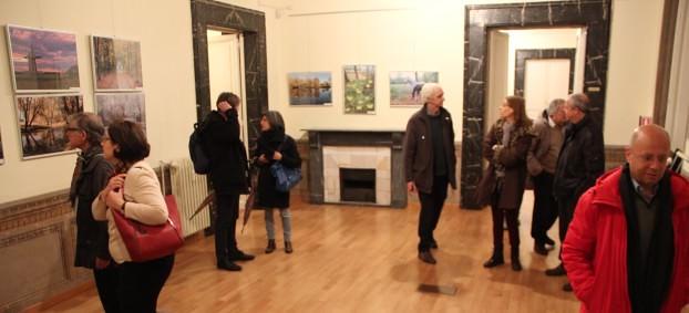 Mostra fotografica del Museo-riserva Tarkhany presso il centro della cultura e delle scienze russo a Roma, фотовыставка Тарханы в XXI веке, Рим, Италия