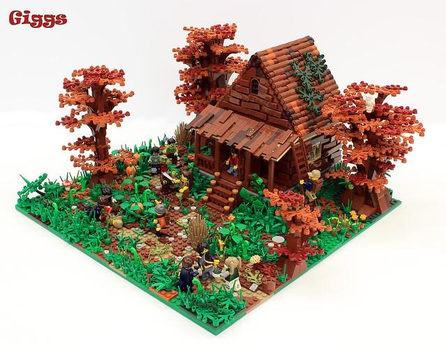 Une cabane au fond des bois