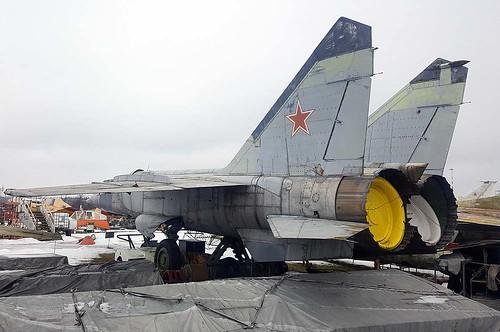 N84027607 34 red MiG-25RBS Riga-Skulte 10-3-18