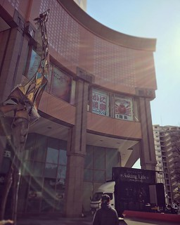 神戸ハーバーランド、カルメニ広場とうちゃーく。Cheri*は17時から唄いまーす!