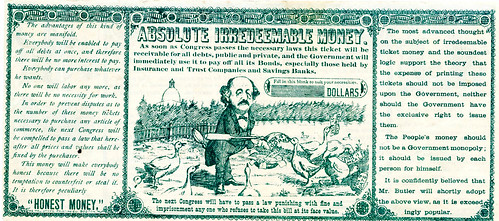 Absolute Money satirical note 3-back