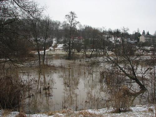 latvia latvija tukums slocene river march 2018 flood canon латвия тукумс слоцене река подоводье март