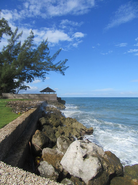 North Coast shore, Jamaica