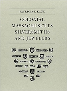 Colonial Massachusetts Silversmiths book cover