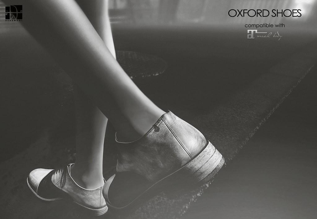[Deadwool] Oxford shoes (Maitreya Lara) for Shoetopia. - TeleportHub.com Live!
