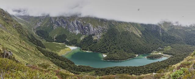 Mackenzie Lake and Hut