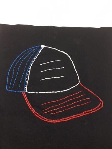 Dustin's hat