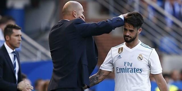 Isco Sepertinya Menyindir, Zinedine Zidane Membela Diri