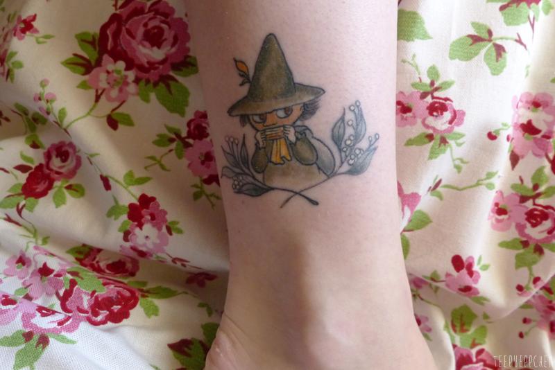 Snufkin Tattoo Moomins Ankle Wanderlust