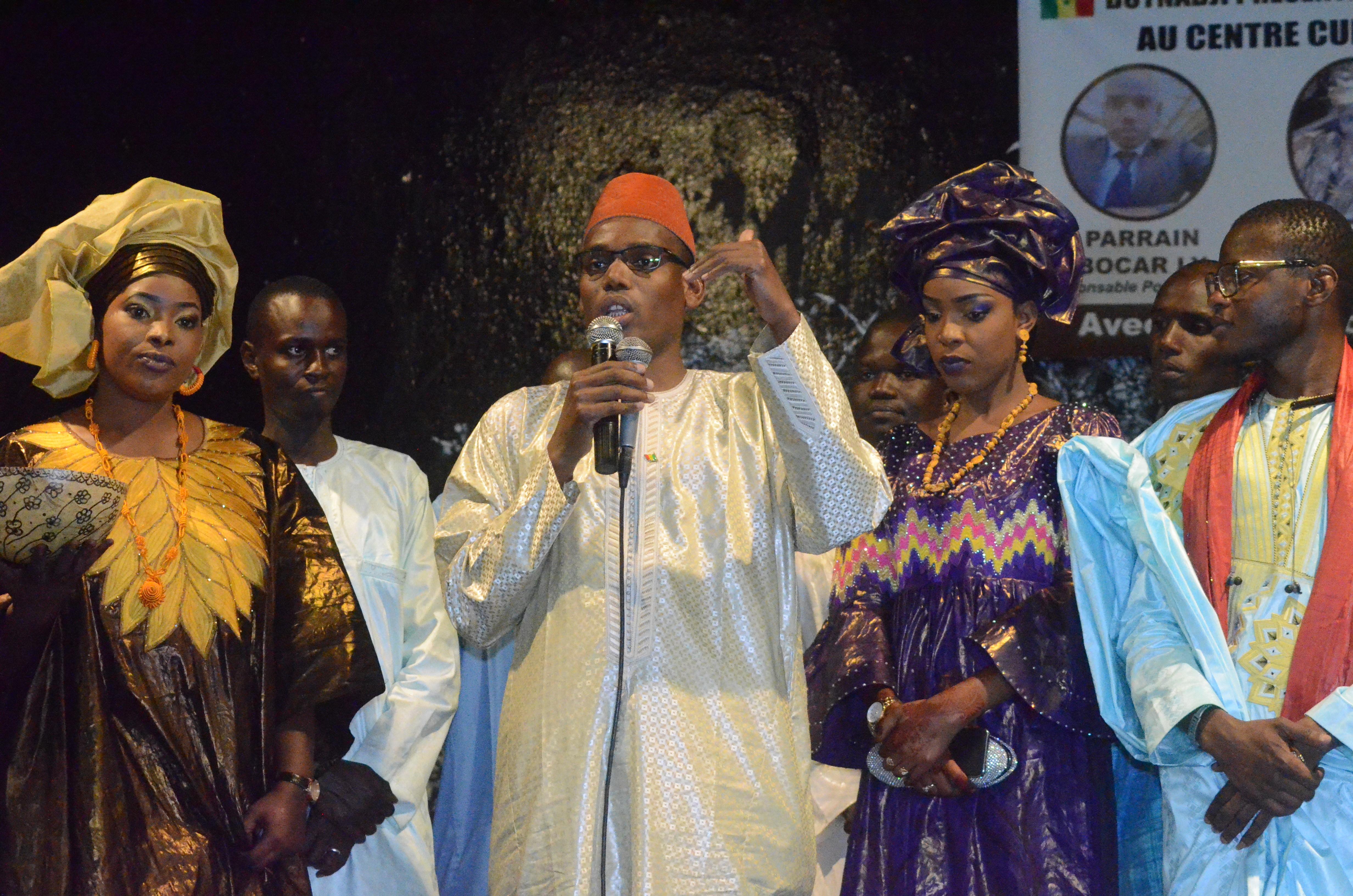 Première Edition soirée culturelle de l'Association Boyinadji Ma fierté de Bokidiawé, le parrain Bocar Abdoulaye Ly appelle à l'union des cœurs (39)