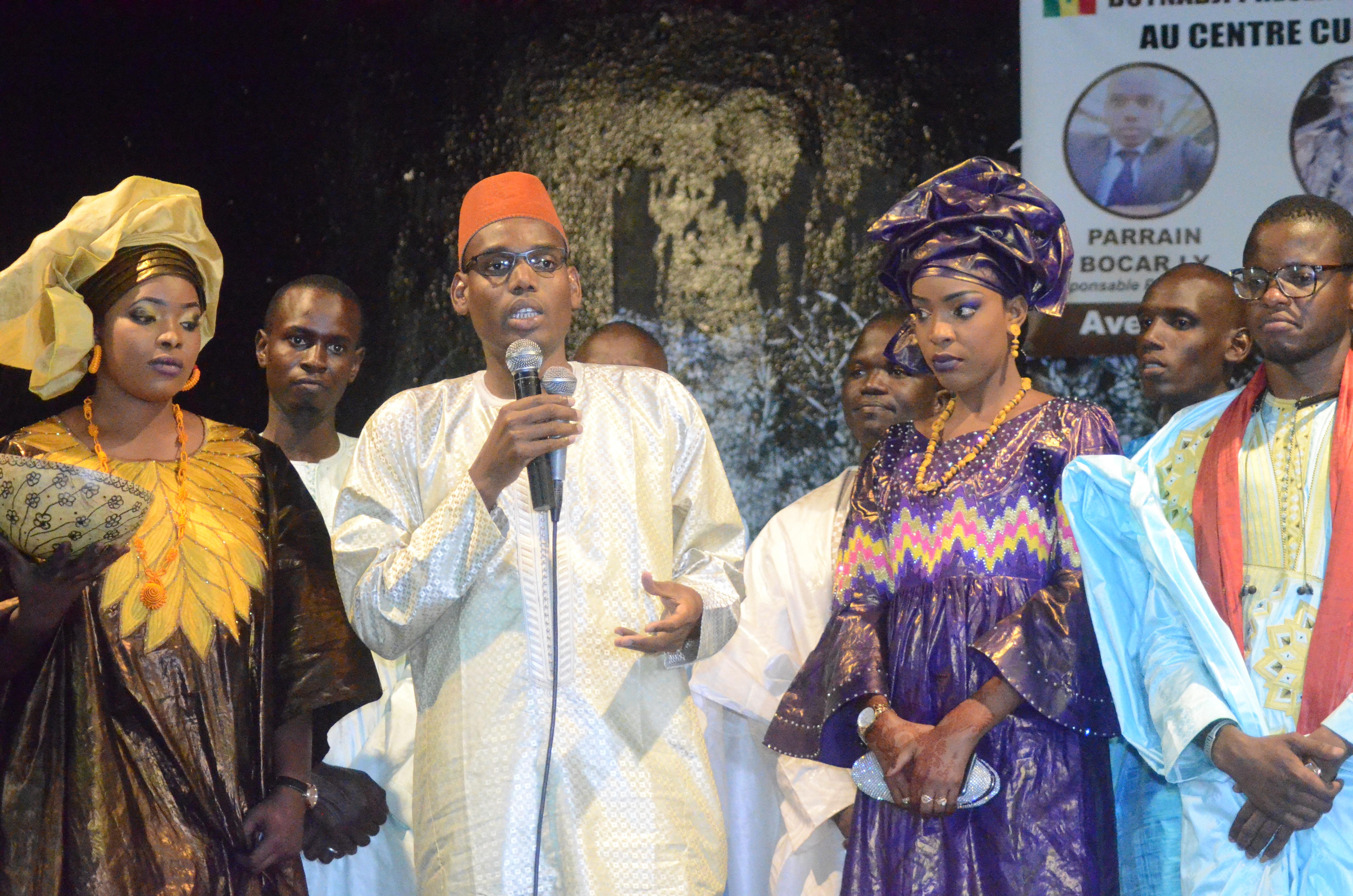 Première Edition soirée culturelle de l'Association Boyinadji Ma fierté de Bokidiawé, le parrain Bocar Abdoulaye Ly appelle à l'union des cœurs (42)