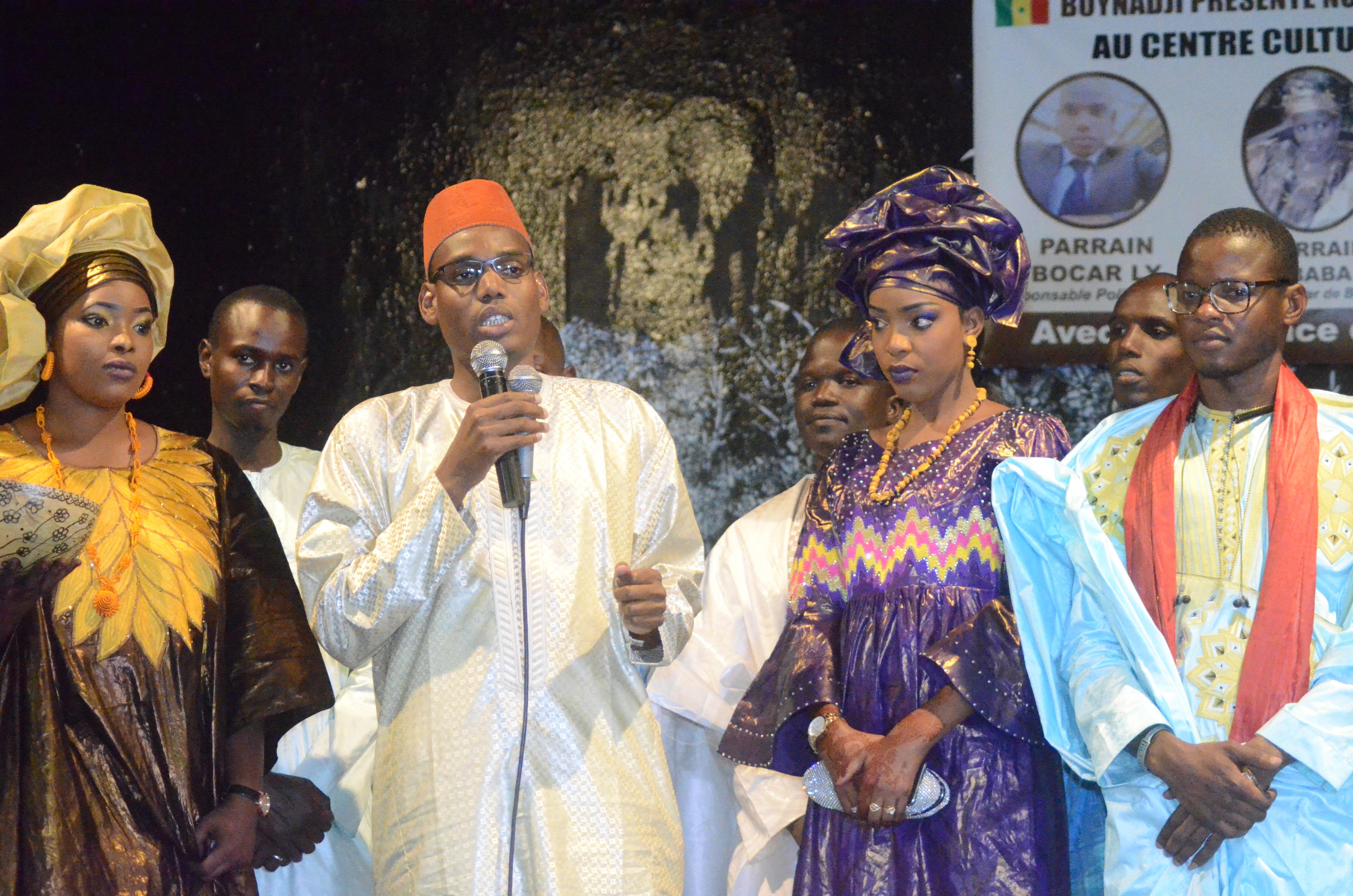 Première Edition soirée culturelle de l'Association Boyinadji Ma fierté de Bokidiawé, le parrain Bocar Abdoulaye Ly appelle à l'union des cœurs (41)