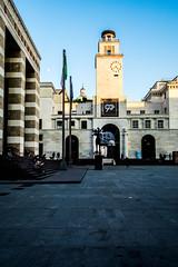 Piazza della vittoria, Brescia, Italy
