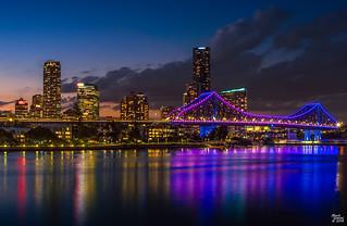 Brisbane City Lights 2