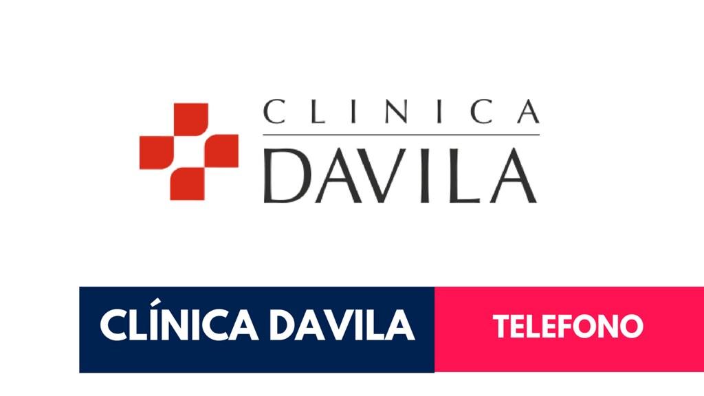 Telefono Clínica Davila
