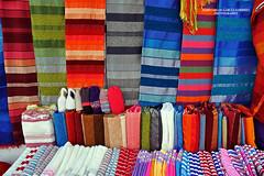 Chefchaouen. Colourful souq