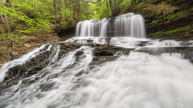 Ricketts Glen ... Mohawk Falls