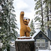 Bear Statue - Lake Arrowhead, California