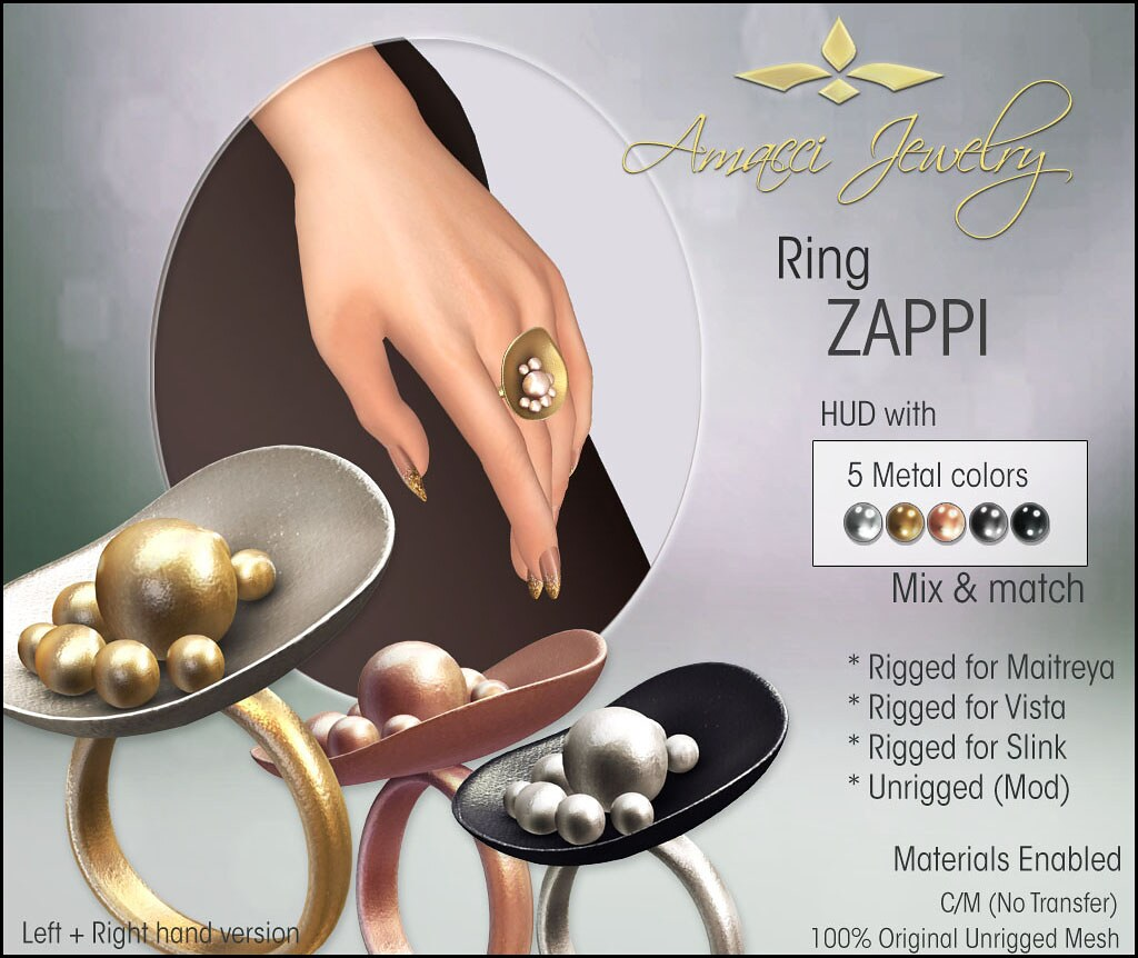 Amacci Zappi Ring