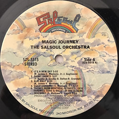 THE SALSOUL ORCHESTRA:MAGIC JOURNEY(LABEL SIDE-A)