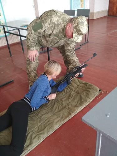 Стрільба навчально польові збори