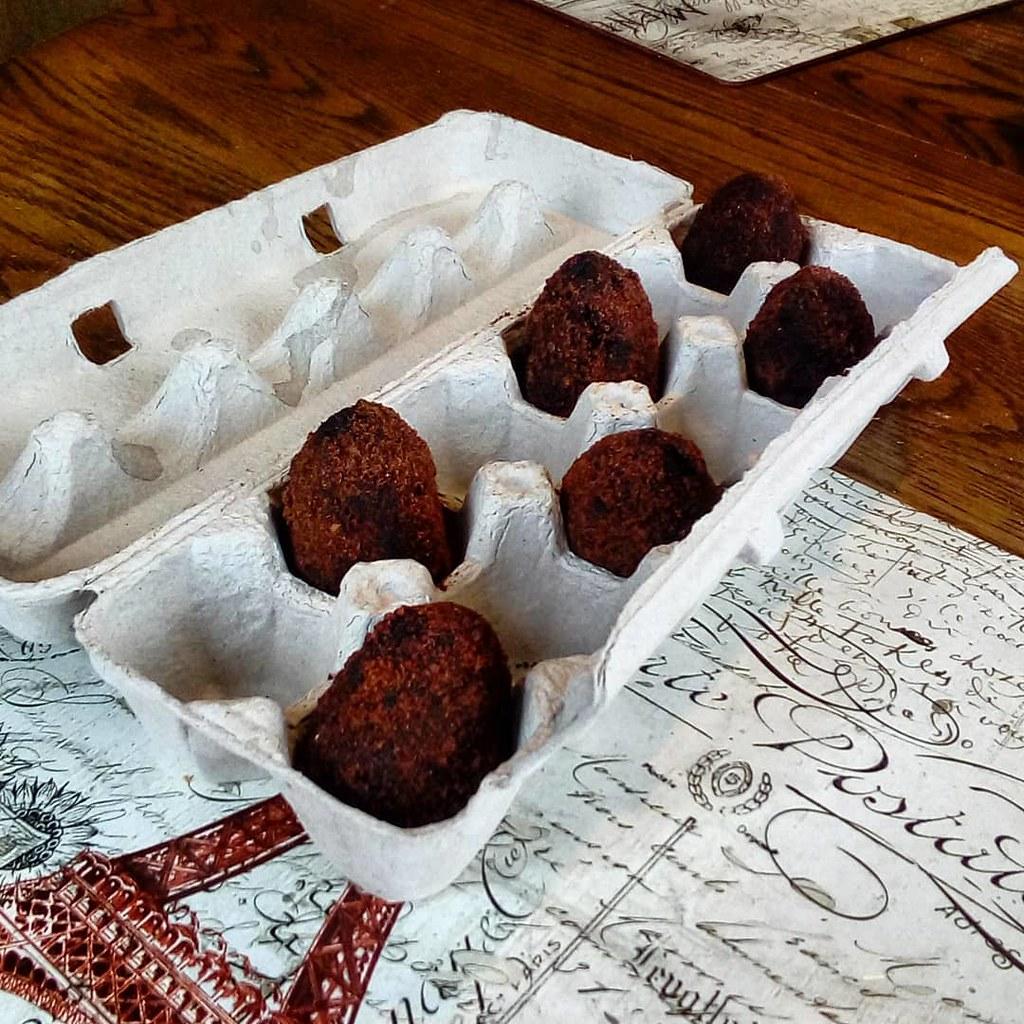 Chocolate Scotch Eggs