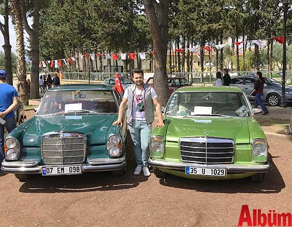 Klasik Mercedes tutkunları Antalya'daydı -5
