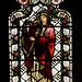 Tamworth, Staffordshire, St. Editha's, St. George's chapel, east window, detail