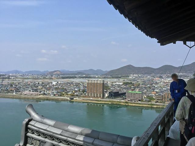 犬山城 天守閣最上階より北方向を眺める IMG_2697_2
