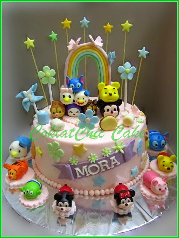 Cake disney TsumTsum MORA 18 cm