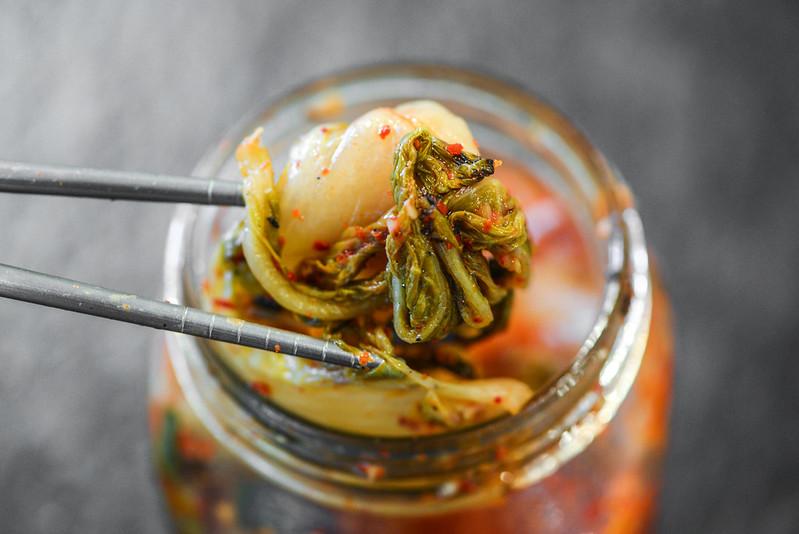 Grilled Kimchi