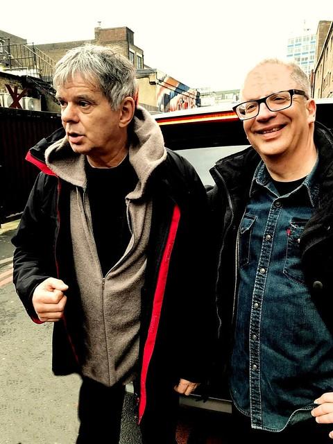 2018 - The Stranglers - Jean Jacques Burnel & Michael Friedmann - in London