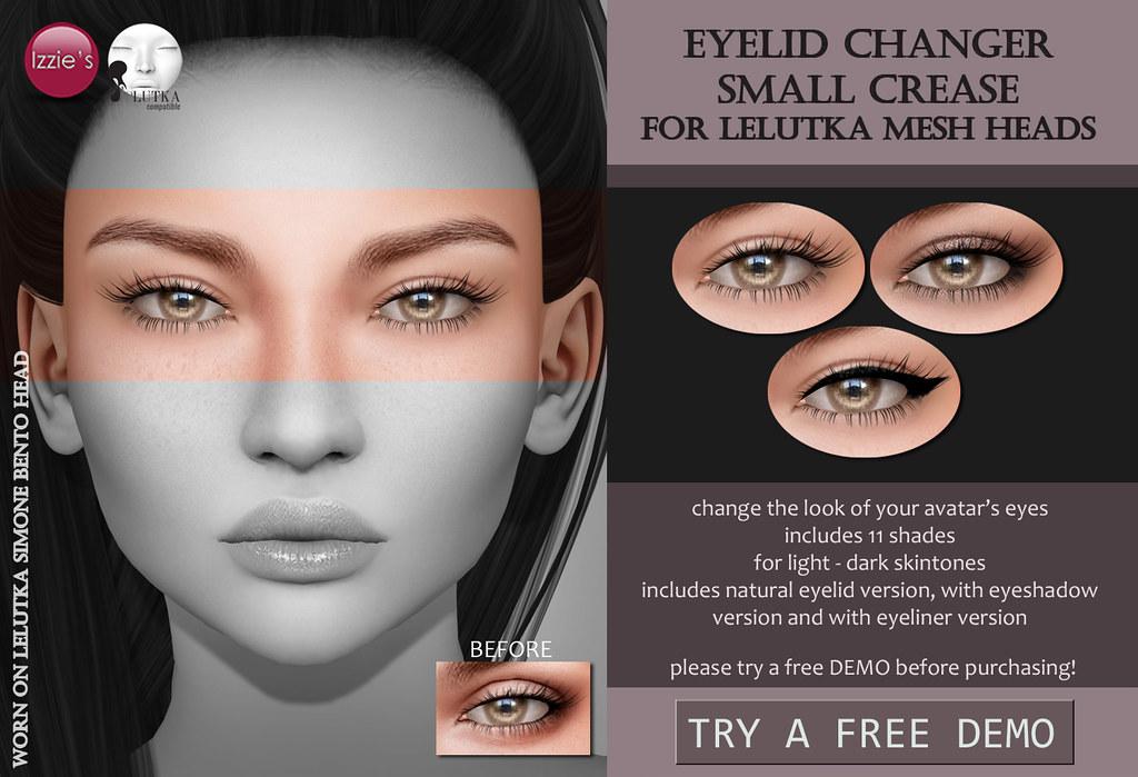 LeLutka Eyelid Changer Small Crease - TeleportHub.com Live!