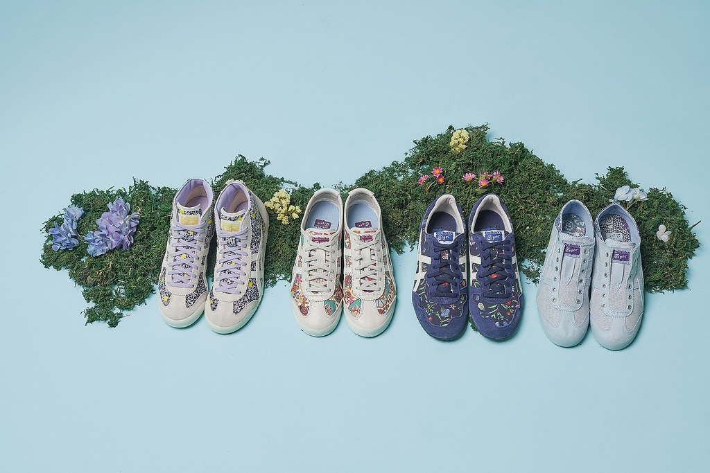 OnitsukaTiger 「 Liberty」系列_全新Liberty系列以「花」為主題推出女性鞋款 呼應春暖花開、萬物復甦的繁榮景象