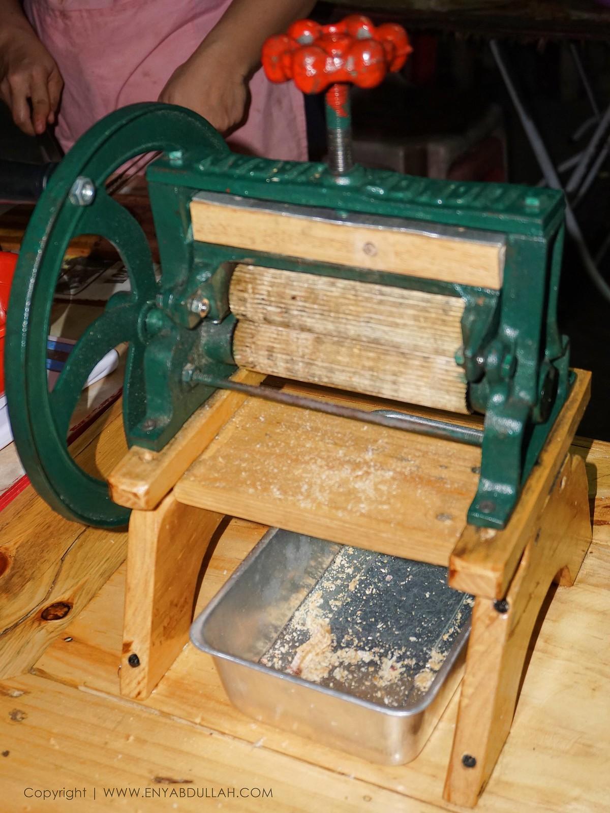 mesin gelek sotong