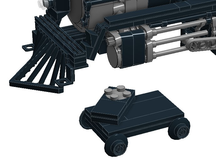 4-4-0 American v2 front wheels
