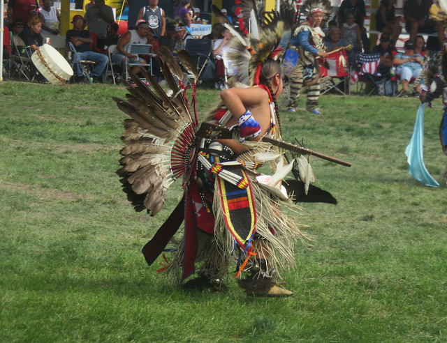 Young Native American Dancers